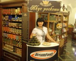 Kóstoltatás a moszkvai GUM áruházban